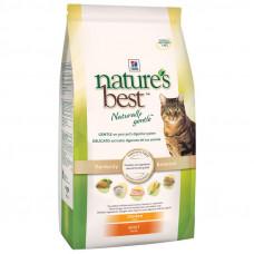 Hills Nature's Best натуральный корм для кошек от 1 до 7 лет, курица с овощами, 2 кг