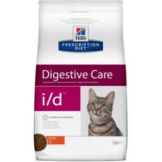 Корм Hills Prescription Diet i/d Digestive Care для кошек при расстройствах пищеварения, диетический, курица, 5 кг