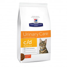 Корм Hills Prescription Diet Feline c/d Multicare, диетический, 1.5 кг
