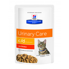 Hill's Prescription Diet Feline c/d Multicare, курица, 85 гр