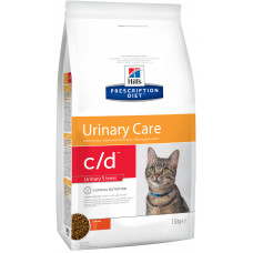 Корм Hills Prescription Diet c/d Feline Urinary Stress, диетический, 1.5 кг