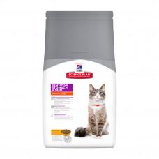 Hill's Science Plan Sensitive Stomach&Skin корм для взрослых кошек для здоровья ЖКТ, 5 кг