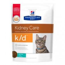 Hill's Prescription Diet Feline k/d при заболевании почек, тунец