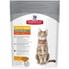 Hill's Science Plan Urinary Sterilised корм для стерилизованных кошек от от 1 до 6 лет, 300 гр