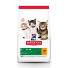 Корм Hills Science Plan Kitten для котят до 12 месяцев, курица, 1.5 кг