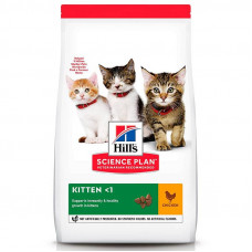 Корм Hills Science Plan Kitten для котят до 12 месяцев, курица, 300 г