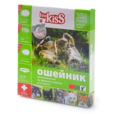 Ошейник Ms.Kiss от блох, клещей, комаров, для котят с 4 недель и кошек, белый, 38 см