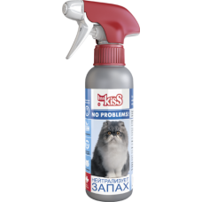 "Спрей Ms.Kiss No problems ""Нейтрализатор запаха"" для кошек, 200 мл"