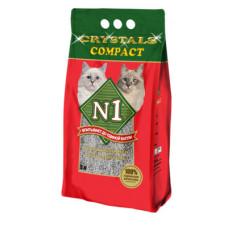 Наполнитель N1 Compact, комкующийся, 5 л, 4.2 кг