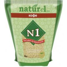 Наполнитель N1 Naturel Кофе, комкующийся, 4.5 л, 1.8 кг