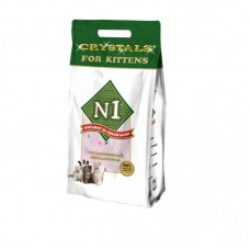 Наполнитель N1 Crystals for Kittens, силикагелевый, для котят, 5 л, 2 кг
