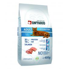 Корм Ontario Adult Ocean Fish для взрослых кошек, морская рыба