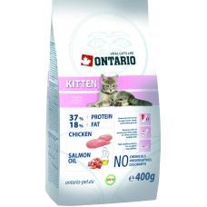 Корм Ontario Kitten для котят, курица