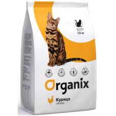 Корм Organix Adult Cat Chicken для взрослых кошек, курица
