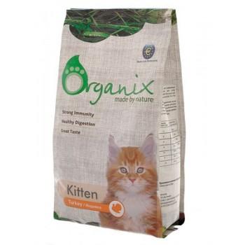 Organix для котят с индейкой, Kitten Turkey, 1,5 кг