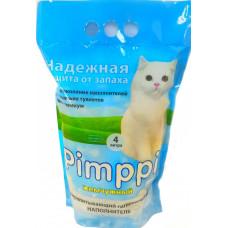 Pimppi жемчужный силикагелевый наполнитель, 4 л