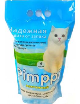 Наполнитель Pimppi жемчужный, силикагелевый, 4 л