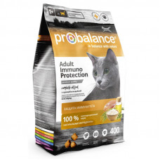 Корм ProBalance Immuno для взрослых кошек, курица/индейка