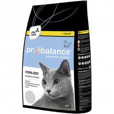 Корм ProBalance Sterilized для кастрированных котов и стерилизованных кошек, курица, 1.8 кг