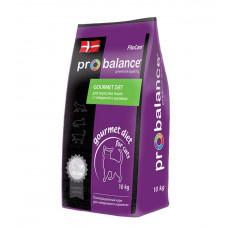 Корм ProBalance Gourmet Diet для взрослых кошек, говядина/кролик, 10 кг