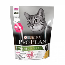 Корм Pro Plan Sterilised для кастрированных кошек, курица