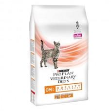 Корм ProPlan Veterinary Diets OM для кошек лечение ожирения
