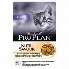 Корм ProPlan Junior для котят, курица, желе, пауч, 85 г