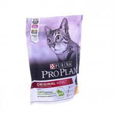 Корм Purina Pro Plan для взрослых кошек с курицей и рисом, Adult Chicken&Rice, 400 г