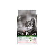 Корм Pro Plan Sterilised для кастрированных кошек, лосось, 10 кг