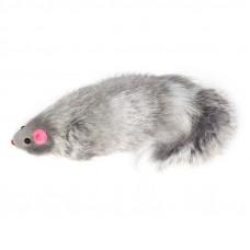 Мышь Triol M5,5NG для кошек, серая, 13-14 см