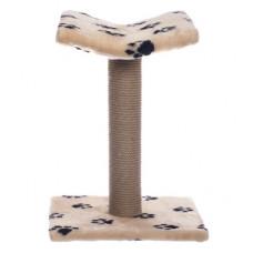 Когтеточка-Лежанка Yami-Yami, джут, бежевый, 40x42x60 см