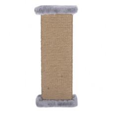 Когтеточка Yami-Yami, настенная, джут, серая, 16.5х8.5х44 см