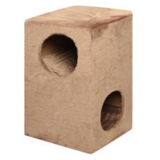 """Домик-когтеточка Yami-Yami """"Куб"""", ковролин, 60х55х46 см"""
