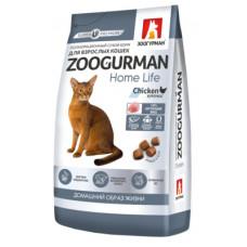 Корм Зоогурман для стерилизованных кошек, индейка, 10 кг