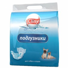 Подгузники Cliny XL 15-30 кг д/соб и кош 7шт