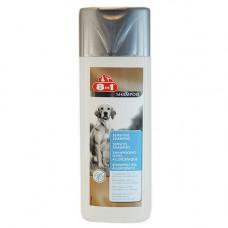 Шампунь 8 в 1 Sensitive Shampoo для собак с чувствительной кожей, 250 мл
