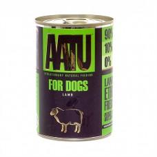 AATU консервы для взрослых собак с ягненком, AATU LAMB, 400 гр
