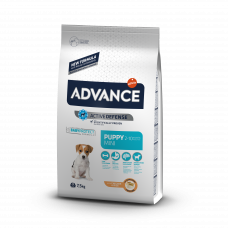 Корм Advance Baby Protect Mini для щенков малых пород, курица/рис, 7.5 кг
