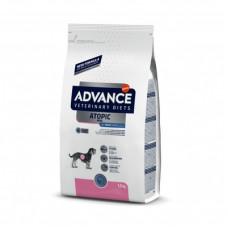 Корм Advance Dog Atopic Care для собак малых пород при дерматозах и аллергии, ветеринарная диета