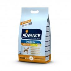 Корм Advance для собак с курицей и рисом, Medium Adult, 14 кг