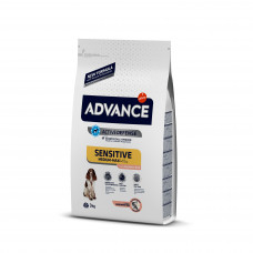 Корм Advance Sensitive для собак с чувствительным пищеварением, лосось/рис