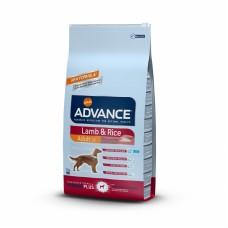 Корм Advance для собак с ягненком и рисом, Lamb&Rice, 12 кг