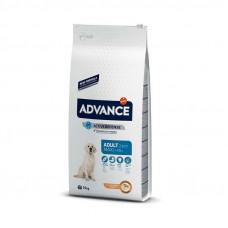 Корм Advance Maxi Adult для взрослых собак крупных пород, курица/рис, 14 кг