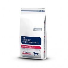 Корм Advance (вет. корма) для собак при сахарном диабете и колитах, Diabetes Colitis