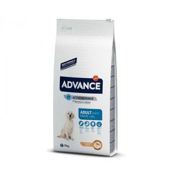 Корм Advance для взрослых собак крупных пород с курицей и рисом, Maxi Adult, 7.5кг