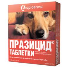 """Apicenna """"Празицид"""" для собак, от глистов, 6 таблеток (празиквантел)"""