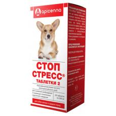 """Apicenna """"Стоп-Стресс"""" для собак до 30 кг, 20 таблеток"""