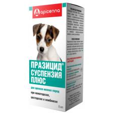 """Apicenna """"Празицид Суспензия Плюс"""" для щенков мелких пород, от глистов, 6 мл"""