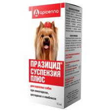 "Apicenna ""Празицид Суспензия Плюс"" для собак, от глистов, 10 мл"