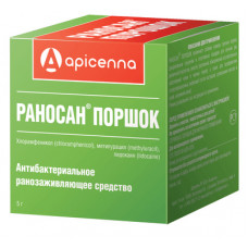 "Порошок Apicenna ""Раносан"", 5 г"